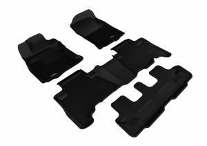 3D MAXpider - 3D MAXpider TOYOTA 4RUNNER 2013-2020 KAGU BLACK R1 R2 R3 (POST)