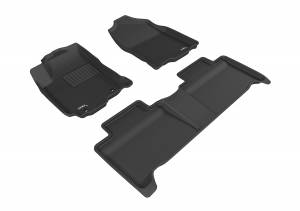 3D MAXpider - 3D MAXpider TOYOTA RAV4 HYBRID 2016-2018 KAGU BLACK R1 R2