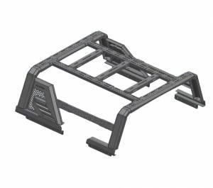 Black Horse Off Road - J   Armour II Roll Bar W/ Basket   Black   AR2-03BA3 - Image 16