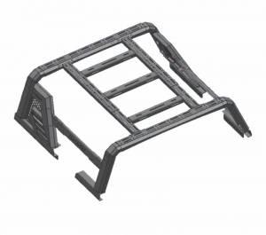 Black Horse Off Road - J   Armour II Roll Bar W/ Basket   Black   AR2-03BA3 - Image 13