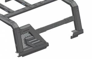 Black Horse Off Road - J   Armour II Roll Bar W/ Basket   Black   AR2-03BA3 - Image 17
