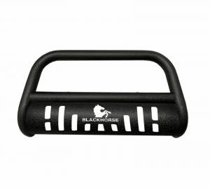 A   Textured Bull Bar with Skid Plate   Black   CBT-F507SP