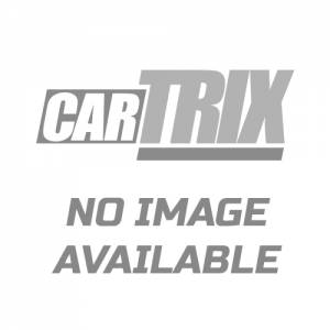 D | Rugged Grille Guard Kit | Black | With 20in Double LED Light Bar | RU-GMSI19-B-K1