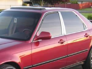 Acura Legend 1991-1995, 4-door, Sedan (4 piece Stainless Steel Pillar Post Trim  ) PP91295 QAA