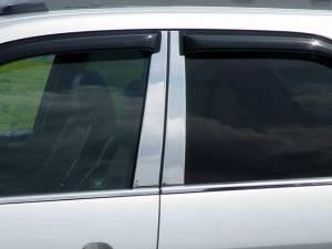 Acura MDX 2001-2006, 4-door, SUV (4 piece Stainless Steel Pillar Post Trim  ) PP21297 QAA
