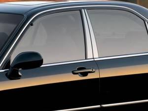 Acura RL 1996-2001, 4-door, Sedan (4 piece Stainless Steel Pillar Post Trim  ) PP20200 QAA