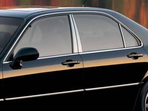 Acura RL 1996-2001, 4-door, Sedan (6 piece Stainless Steel Pillar Post Trim  ) PP20201 QAA