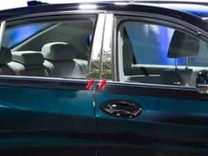 Acura RLX 2014-2020, 4-door, Sedan (4 piece Stainless Steel Pillar Post Trim  ) PP14200 QAA