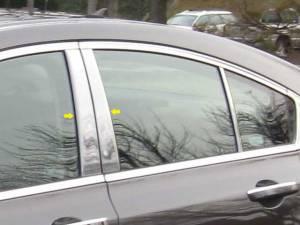 Acura TL 2009-2014, 4-door, Sedan (4 piece Stainless Steel Pillar Post Trim  ) PP29295 QAA
