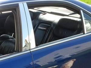 Acura TL 1999-2003, 4-door, Sedan (6 piece Stainless Steel Pillar Post Trim  ) PP22296 QAA