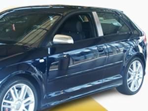 Audi A3 2006-2013, 2-door, Coupe (2 piece Stainless Steel Pillar Post Trim  ) PP27610 QAA