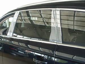 Audi Q7 2007-2015, 4-door, SUV (10 piece Stainless Steel Pillar Post Trim  ) PP27615 QAA