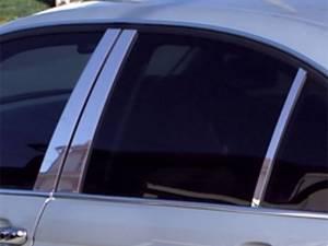 BMW 3 Series 2006-2012, 4-door, Sedan (6 piece Stainless Steel Pillar Post Trim  ) PP26906 QAA