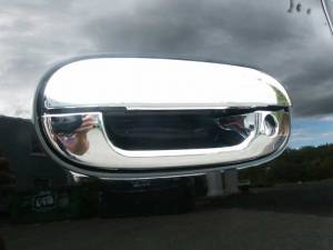 Cadillac CTS 2003-2007, 4-door, Sedan (8 piece Chrome Plated ABS plastic Door Handle Cover Kit  ) DH40245 QAA