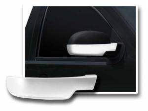 Cadillac Escalade 2007-2014, 4-door, SUV (2 piece Chrome Plated ABS plastic Mirror Cover Set Bottom Half only ) MC47197 QAA