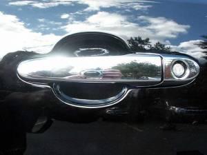 Chevrolet Cobalt 2005-2010, 4-door, Sedan (8 piece Chrome Plated ABS plastic Door Handle Cover Kit Does not include passenger key access ) DH46135 QAA