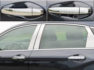 Chevrolet Impala 2014-2020, 4-door, Sedan, Does not fit the Limited (8 piece Chrome Plated ABS plastic Door Handle Cover Kit  ) DH54135 QAA
