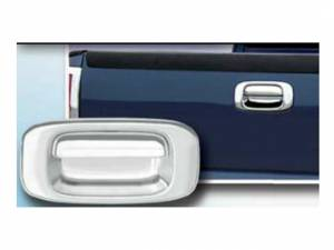 Chevrolet Silverado 1999-2006, 2-door, Pickup Truck (2 piece Chrome Plated ABS plastic Tailgate Handle Cover Kit  ) DH39182 QAA