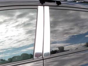 Toyota Rav4 2006-2012, 4-door, SUV (4 piece Stainless Steel Pillar Post Trim  ) PP26180 QAA