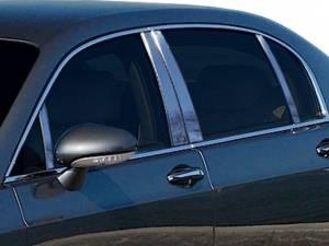 Bentley Continental Flying Spur 2006-2012, 4-door, Sedan (8 piece Stainless Steel Pillar Post Trim  ) PP26999 QAA