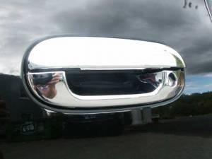 Cadillac Escalade 1999-2001, 4-door, SUV (8 piece Stainless Steel Door Handle Cover w/ 2 keyholes) DH40255 QAA
